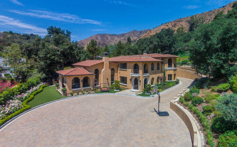 $5.68 Million Mediterranean Home In Glendora, CA