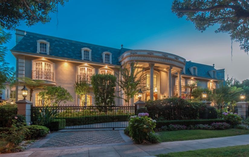 22 Million French Normandy Mansion In Beverly Hills Ca