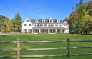 $3.25 Million Newly Built Colonial Mansion In Morristown, NJ