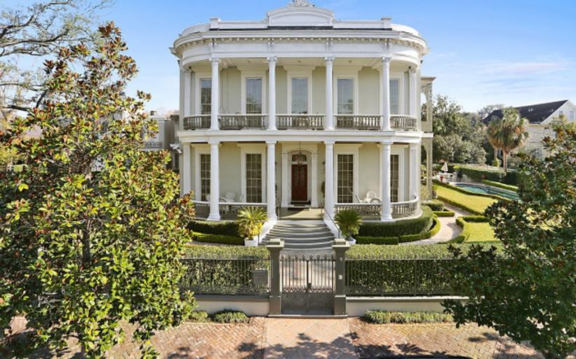 $7.9 Million Historic Mansion In New Orleans, LA