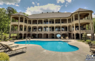10,000 Square Foot Lakefront Mansion In Conway, AR