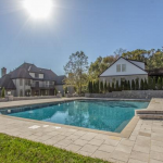 Rear Exterior w/ Pool & Guest House