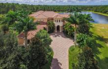 $2.95 Million Mediterranean Lakefront Home In Bradenton, FL