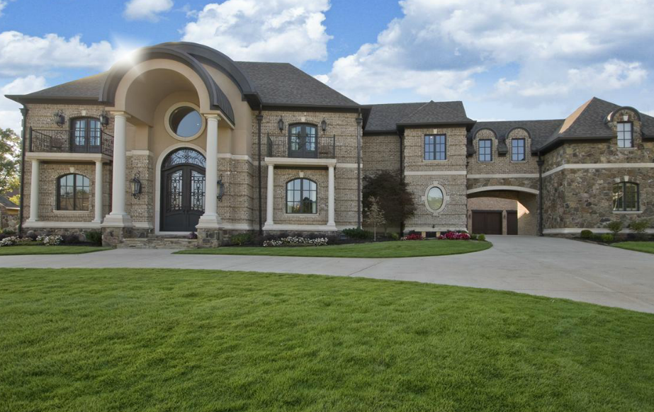 11 000 square foot brick stone mansion in little rock Home builders in arkansas