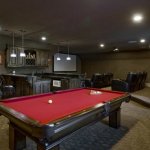 Billiards Room/Home Theater w/ Wet Bar
