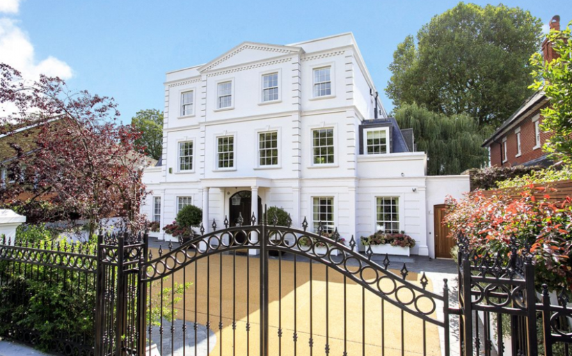 Newly Built Mansion In London, England
