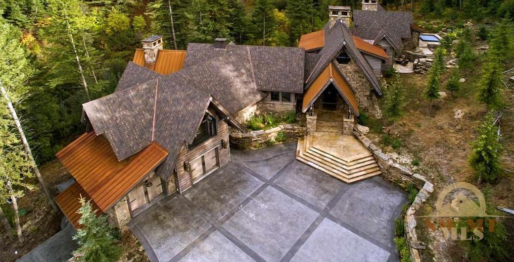 17 9 Million Wood Amp Stone Mansion In Bozeman Mt Homes