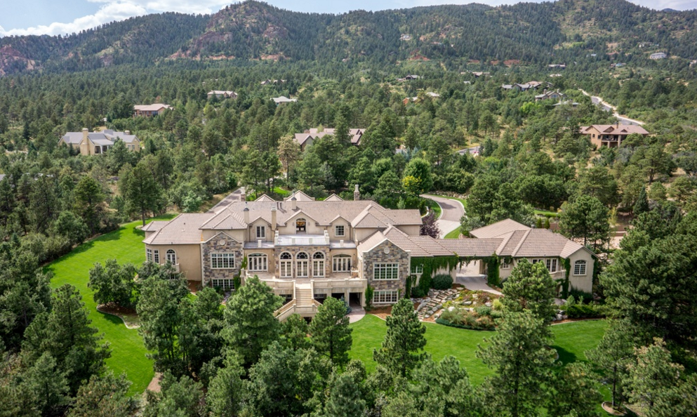 17,000 Square Foot Stone & Stucco Mansion In Colorado Springs, CO
