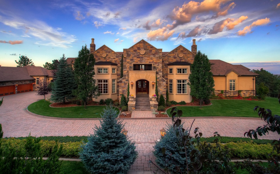 17,000 Square Foot Stone U0026 Stucco Mansion In Colorado Springs, CO