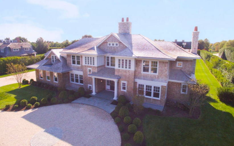 $14.9 Million Newly Built Shingle Style Mansion In Southampton, NY