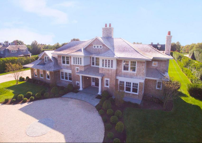 $14.9 Million Newly Built Shingle Style Mansion In Southampton, NY