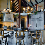 2-story Gourmet Kitchen