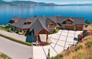 12,000 Square Foot Lakefront Mansion In British Columbia, Canada