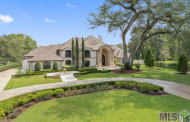 $5 Million Lakefront Mediterranean Mansion In Baton Rouge, LA