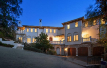 $3.88 Million Mediterranean Home In Burlingame, CA