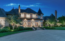 $2.59 Million French Inspired Mansion In Colleyville, TX