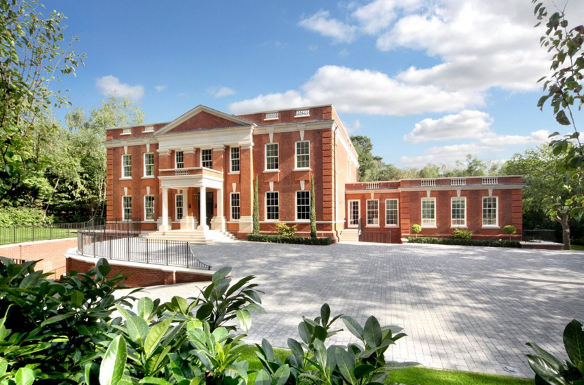 Foxwood – A 12,000 Square Foot Brick Mansion In Surrey, England