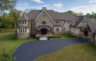 13,000 Square Foot Stone & Stucco Mansion In Lower Gwynedd, PA