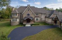 13,000 Square Foot Stone & Stucco Mansion In Lower Gwynedd, PA