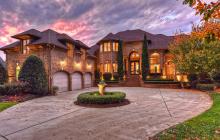 $2.9 Million Lakefront Brick Mansion In Cornelius, NC