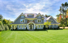 $3.995 Million Newly Built Shingle Style Mansion In Westport, CT