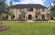 $3.75 Million Newly Built Stone Home In Houston, TX