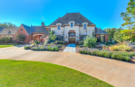 $3.975 Million French Inspired 18 Acre Estate In Arcadia, OK