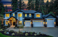 $2.9 Million Newly Built Craftsman Style Home In Bellevue, WA