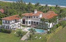 $19.5 Million Mediterranean Waterfront Estate In Lantana, FL