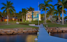 $4 Million Modern Waterfront Mansion In Sarasota, FL