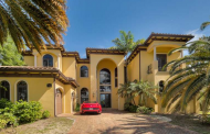 $3.7 Million Mediterranean Waterfront Home In Hallandale Beach, FL