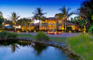 $5.2 Million Mediterranean Waterfront Estate In Nokomis, FL
