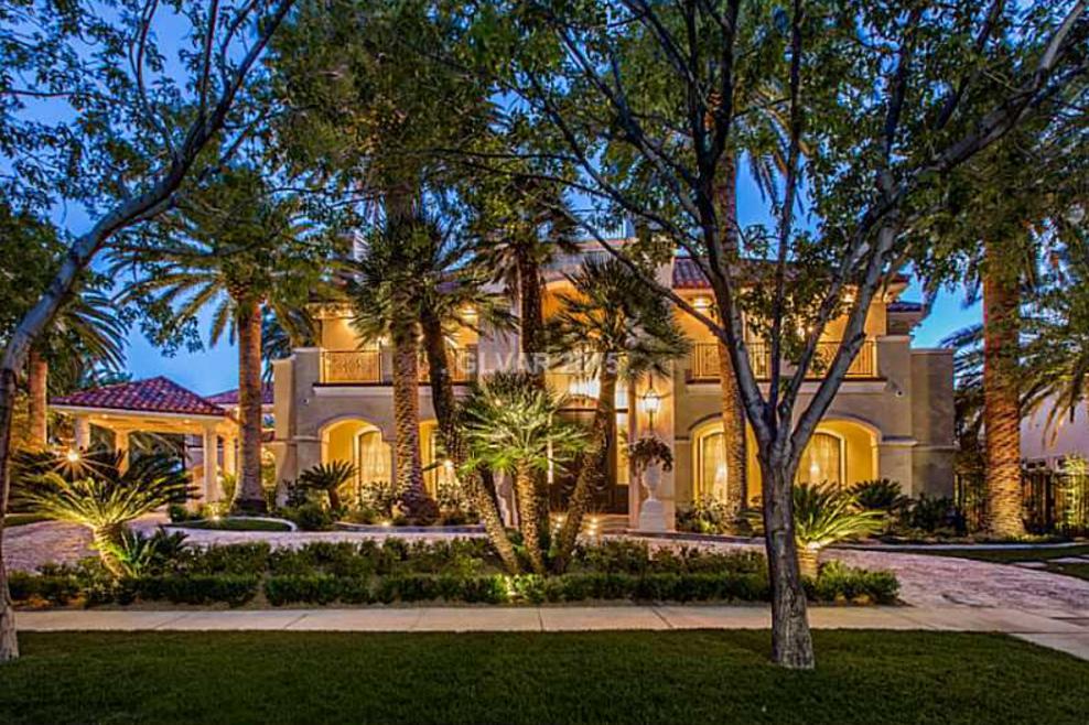 $22 Million Tuscan Inspired Mansion In Las Vegas, NV