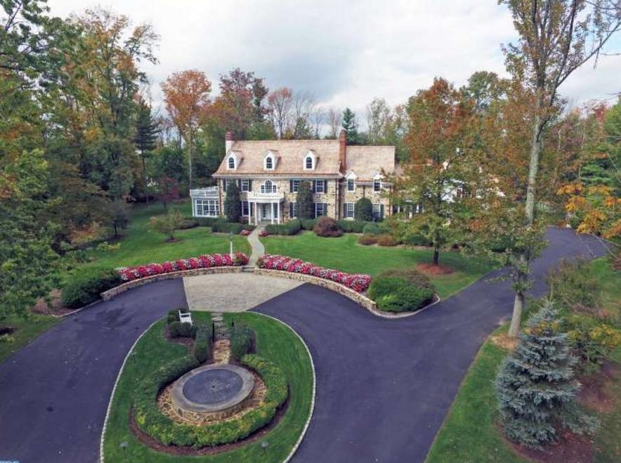 Fox Gate – A $4.4 Million Colonial Home In Lower Gwynedd, PA