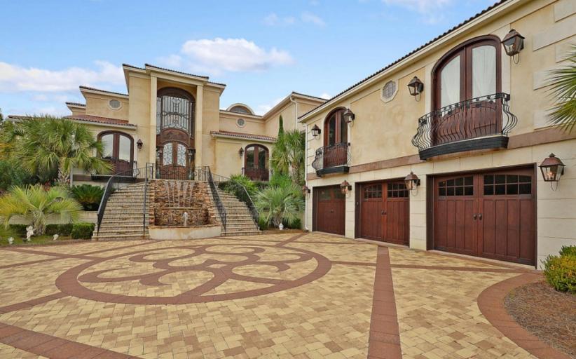 $4.2 Million Mediterraenan Riverfront Mansion In Mount Pleasant, SC