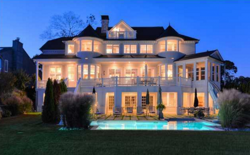 $3.5 Million Riverfront Mansion In Brick, NJ