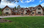 $3.375 Million Newly Built Stone & Stucco Mansion In Colorado Springs, CO