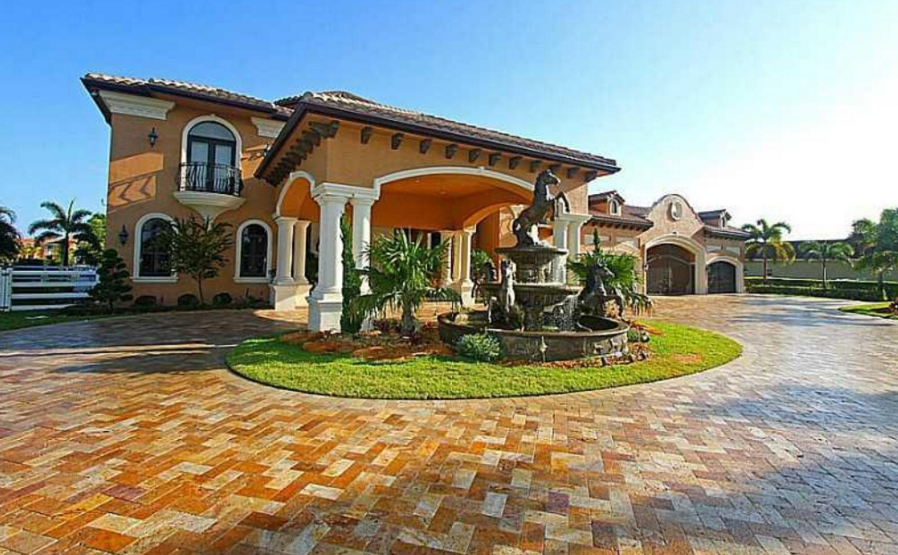14 000 square foot mediterranean mansion in southwest for South west ranch
