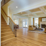 Staircase & Family Room