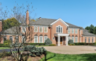$4.395 Million Brick Mansion In Lake Forest, IL