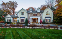 $2.35 Million Colonial Home In Upper Saddle River, NJ