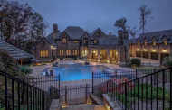 14,000 Square Foot Brick & Stone Mansion In Alpharetta, GA
