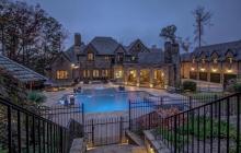 14,000 Square Foot Brick & Stone Mansion In Alpharetta, GA
