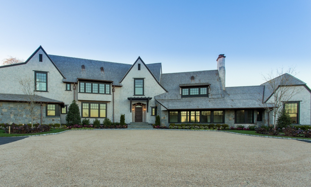 $11.9 Million Newly Built Shingle & Stone Mansion In Sands Point, NY