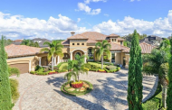 $3.799 Million Mediterranean Lakefront Home In Windermere, FL
