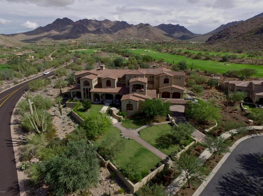 $8.395 Million Newly Built Spanish Contemporary Mansion In Scottsdale, AZ