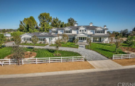 $12.95 Million Newly Built 13,000 Square Foot Cape Cod Style Mansion In Hidden Hills, CA