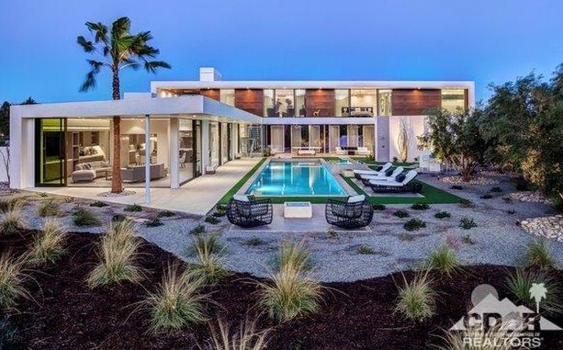 $6.575 Million Newly Built Modern Home In La Quinta, CA