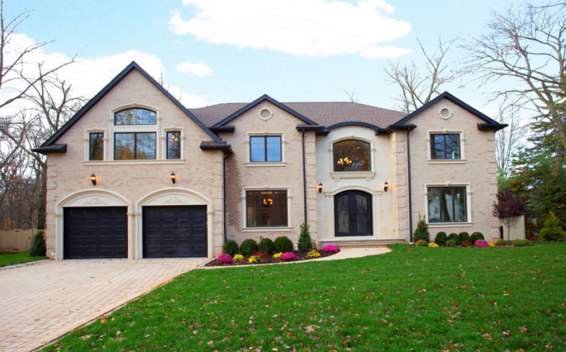 $1.85 Million Newly Built Brick Home In Closter, NJ