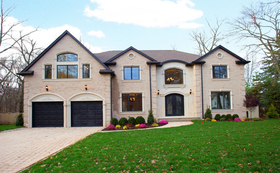 Million newly built brick home in closter nj for Building a house in nj